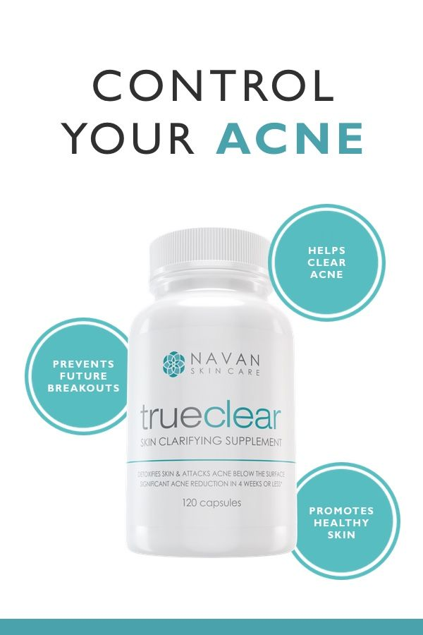 Utilizing only the highest quality, natural ingredients, TrueClear is effective against persistent acne, zits, cystic acne, blackheads, inflammation, and even body acne. Try it today!