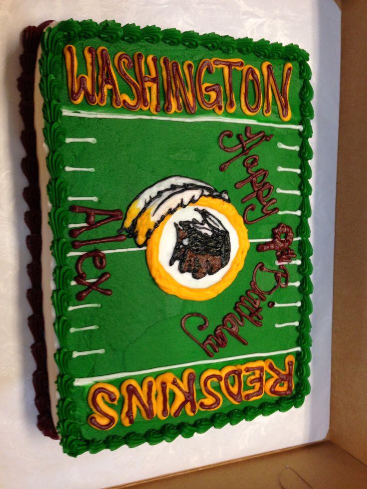Washington Redskins cake