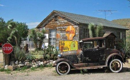 Rincón de Hackberry en la Ruta 66 de Arizona