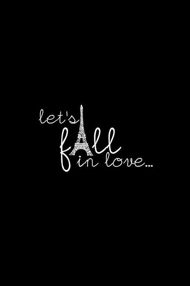 Let's fall in love ♥