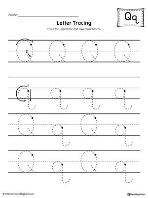 letter q tracing printable worksheet tech education help letter worksheets letter q. Black Bedroom Furniture Sets. Home Design Ideas