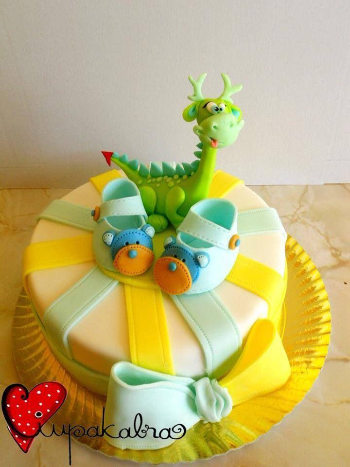 Dino s baby shower cake cakes pinterest