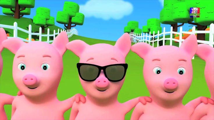 cinq petits piggies poème   des comptines de collecte   comptines #fivelittlepiggies #nurseryrhymes #kidsrhymes #childrensong #babysongs #education #parenting