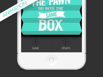 Fold Effect by Jelio Dimitrov. 25 Stunning #Mobile #UI Examples (Animated GIF)