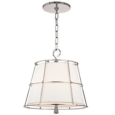 Hudson Valley Lighting | SAVONA - 9816-PN, totally different too, but an alternative to glass