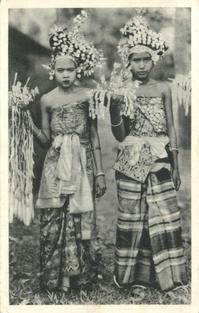 Balinese were often treated with brutality by the Dutch and it often is reflected with expressions of hostility or anger in old photos taken during colonial occupation.