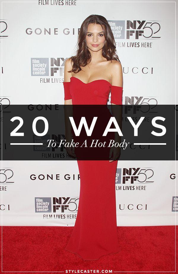 20 Ways to Fake a Hot Body