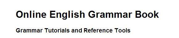 Online Grammar Book