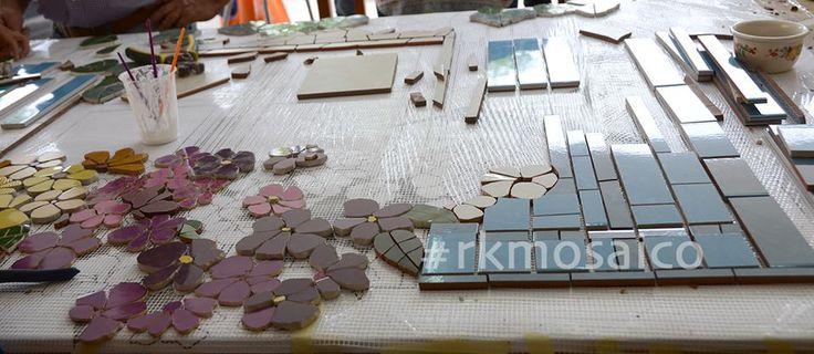 Colocación de piezas