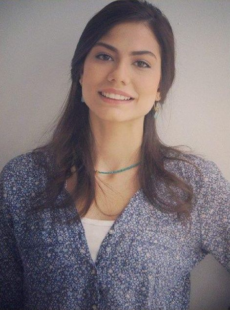Turkish actress - Demet Özdemir