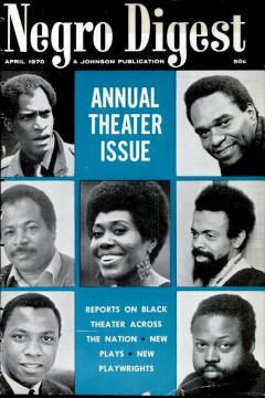 Negro Digest: http://aalbc.it/blackartsmovement  For the publication of Black Arts creative literature, no magazine was more important than the Chicago-based Johnson publication Negro Digest / Black World. --Kalamu ya Salaam