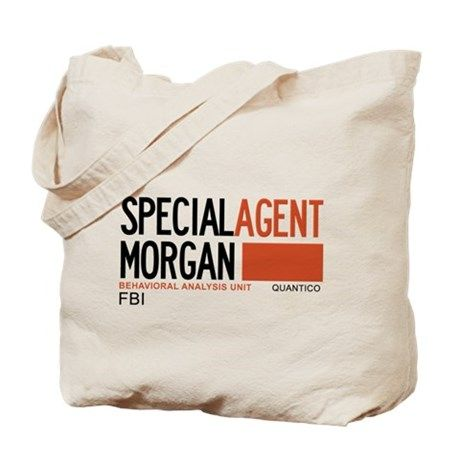 Special Agent Morgan Criminal Minds Tote Bag on CafePress.com