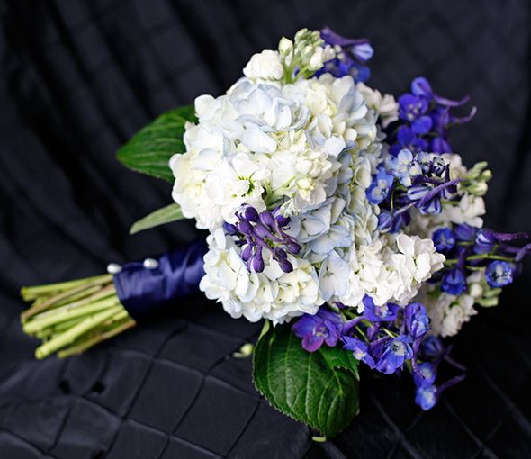77 best images about blue navy cobalt cerulean for White and blue flower bouquet
