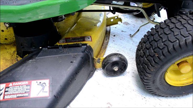 john deere 68 riding mower repair manual