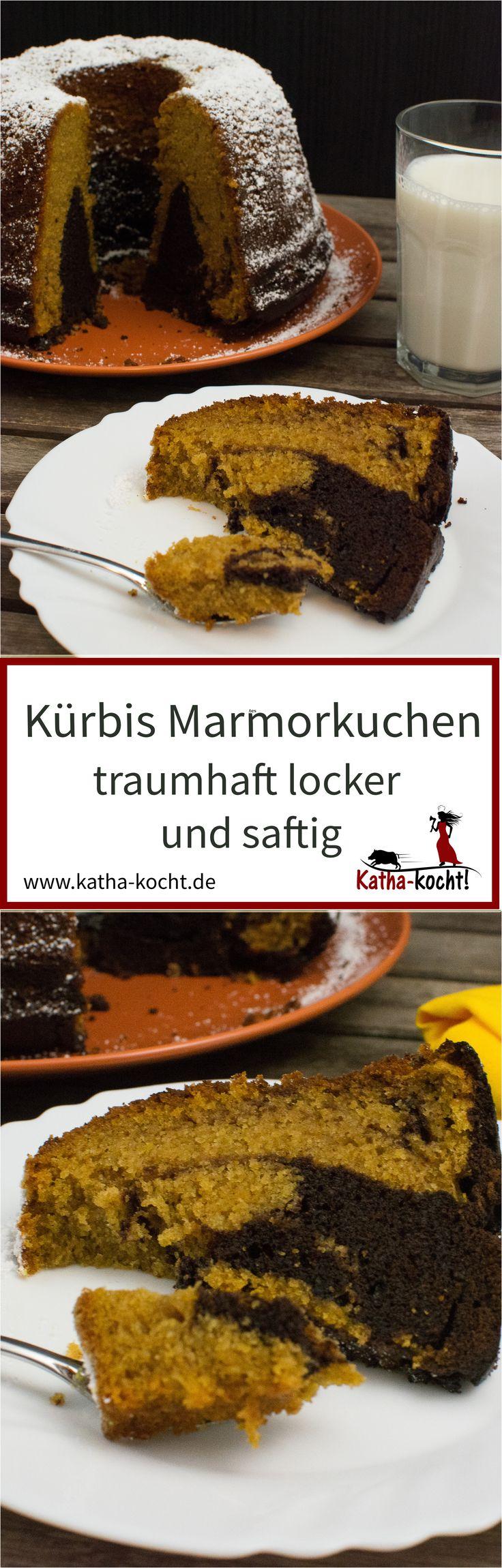 Der Wohl Lockerste Und Saftigste Marmorkuchen Aller Zeiten   Dank  Kürbismus, Pumpkin Pie Spice Und