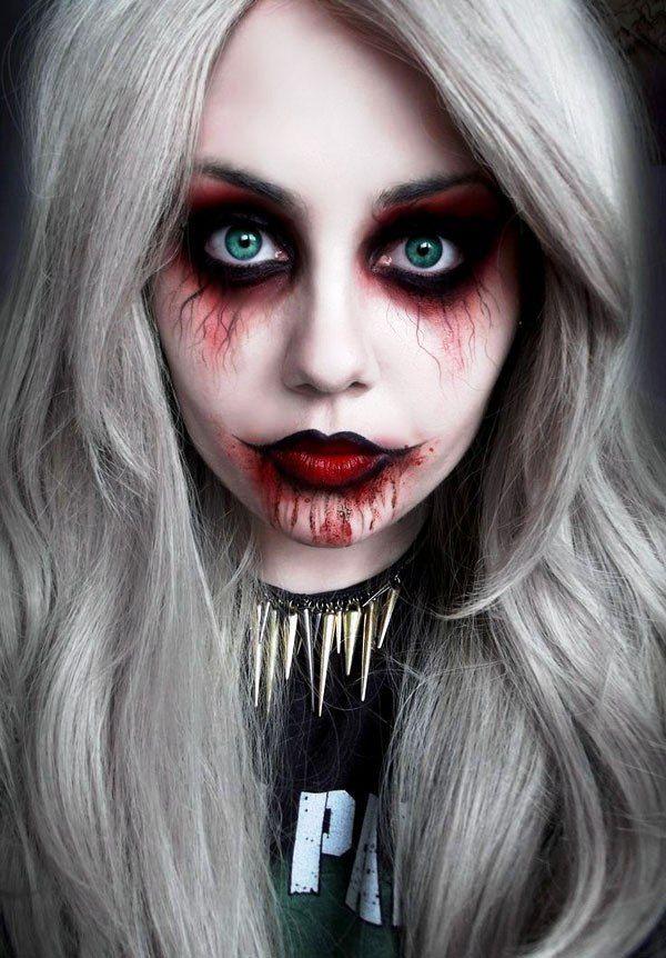 Amazing Halloween Makeup for women