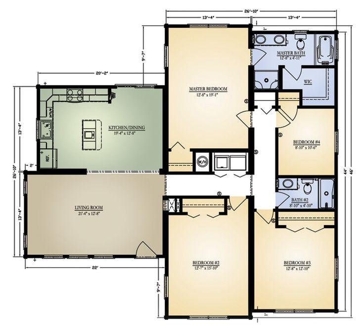 Columbus3 Floor Plans Fp Columbus III: Log Home Floor Plan