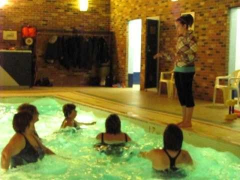 Water Aerobics warm up