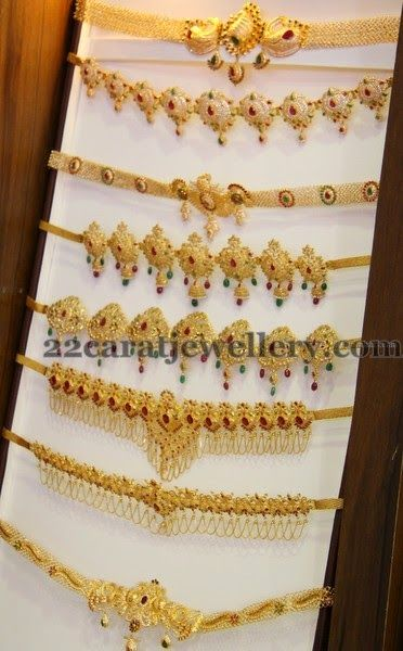 Jewellery Designs: Multipurpose Waistbelt Designs