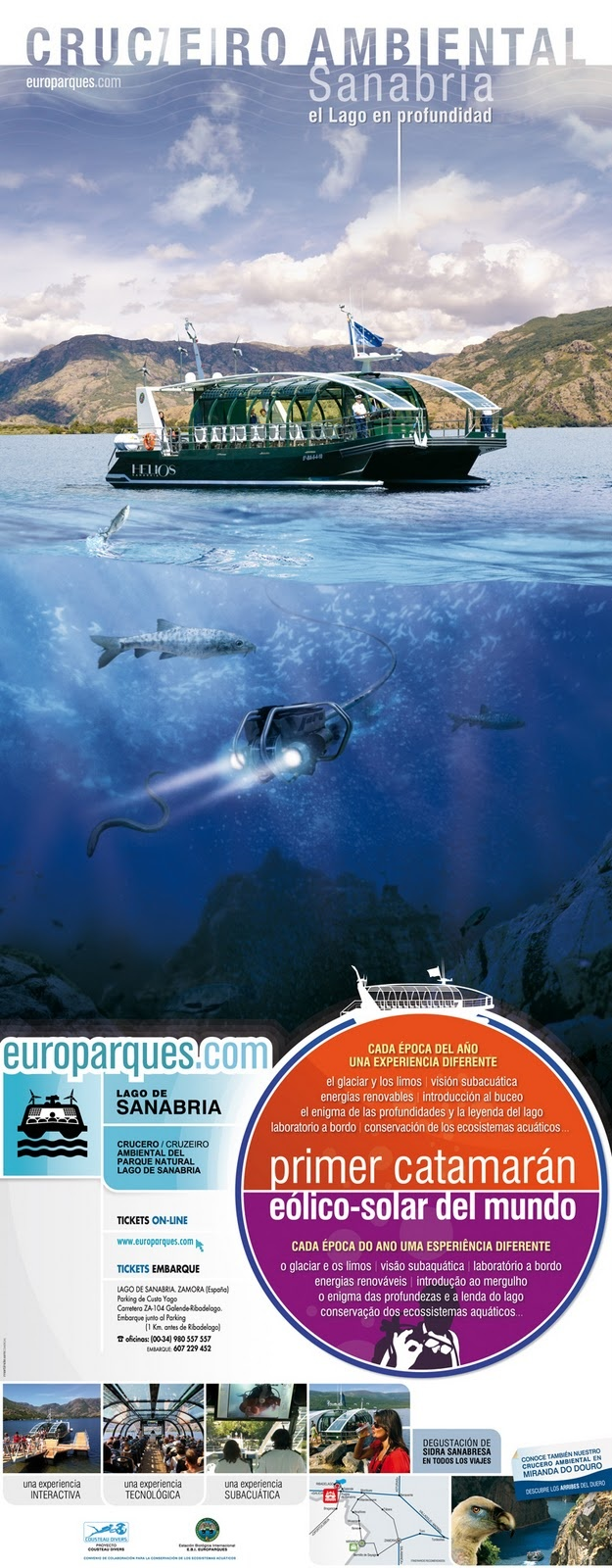 Crucero ambiental por en SANABRIA  Europarques 2012