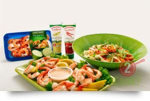 Thai Prawn Salad, noodles & chilli | What2Cook