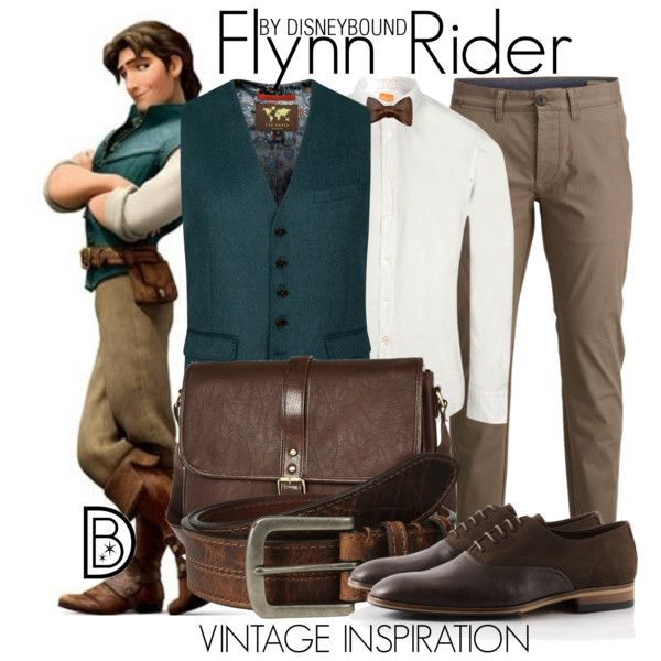 Flynn Rider by leslieakay on Polyvore featuring Ted Baker, Torino Leather Co., BOSS Orange, SELECTED and River Island