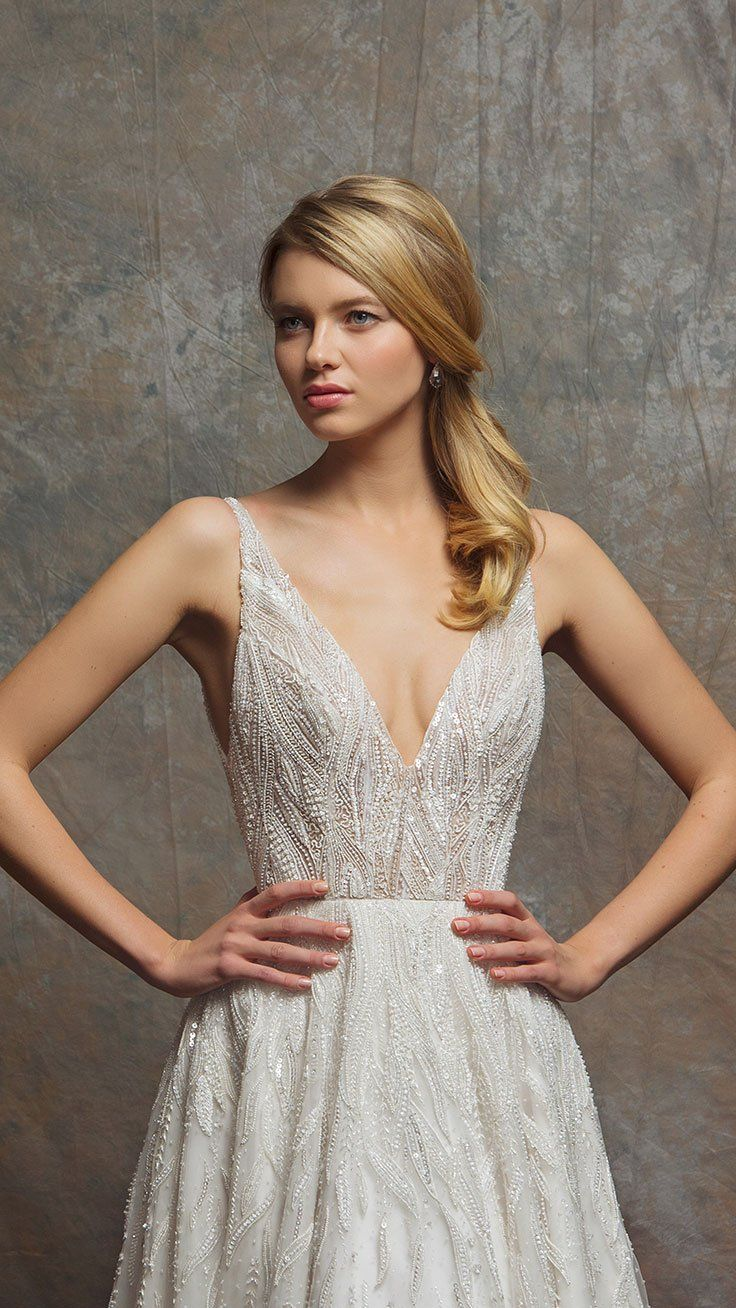 Glamorous bride.