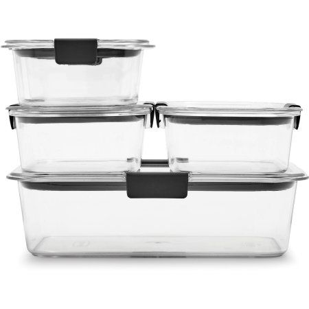 Rubbermaid Brilliance Food Storage Container Set 22 Piece Clear Mesmerizing 13 Best Meal Prep Containers In Bulk Images On Pinterest  Food Decorating Inspiration