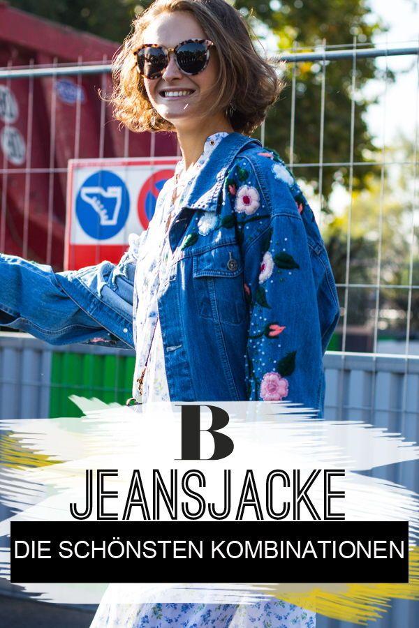 jeansjacke stylen
