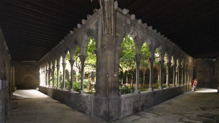 Claustro de la Iglesia de Santa Anna en Barcelona