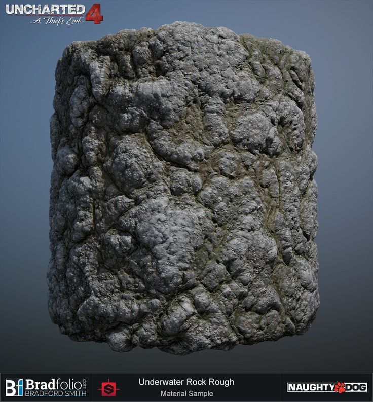ArtStation - Uncharted 4 | Dive | Rock Materials, Bradford Smith