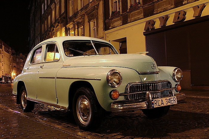 #FSO #Warszawa #car #vintage #Polish #wow