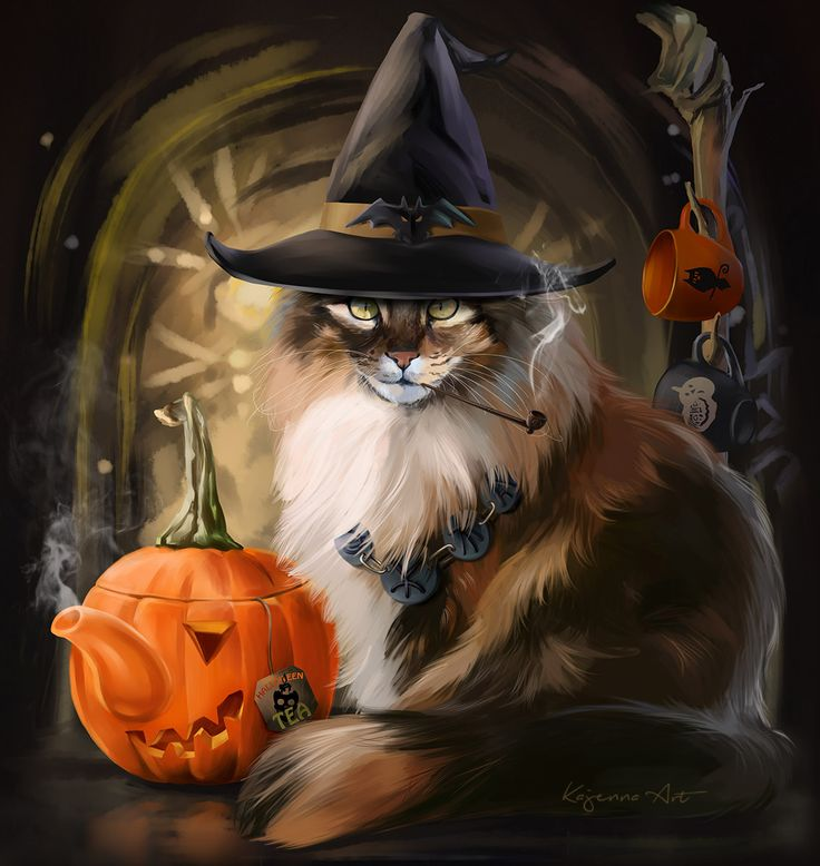 halloween pictures of cats