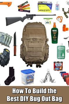 How To Build the Best DIY Bug Out Bag