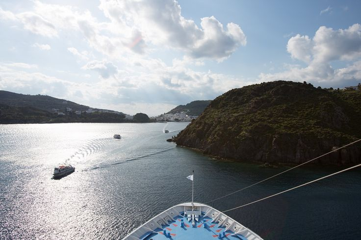 New horizons are opening in front of your vacation's cruise ship!  Hold your breath and keep your eyes open! #Celestyalcruises #horizon #vacation #cruise #ship