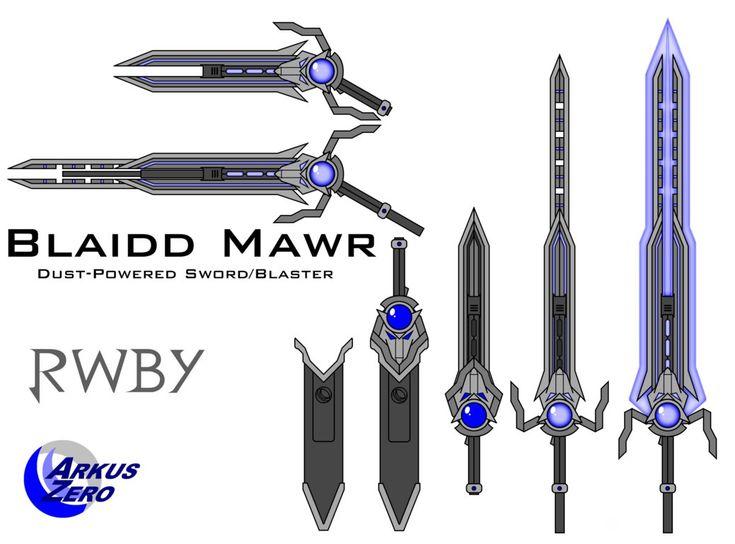 Blaidd Mawr - RWBY Fan Weapon by Arkus0 on DeviantArt