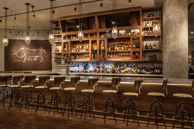 The Bar Of Toro Toro By Parts And Labor Design