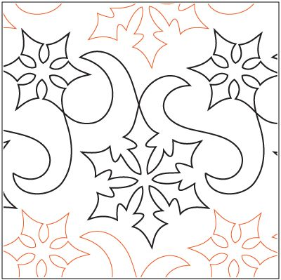 "A single row is 12"" wide – printed with one row – 144"" long     © 2013  Barbara Beck - Four Paws Quilting * This design is available in both paper and digital.  Please select your preference below. NOTE:   All digital designs include the following conversions:  CQP, DXF, HQF, IQP, MQR, PAT, QLI, SSD, TXT, WMF and 4QB or PLT. Most designs also include a DWF, GIF and PDF. This pattern was converted by Digitech."