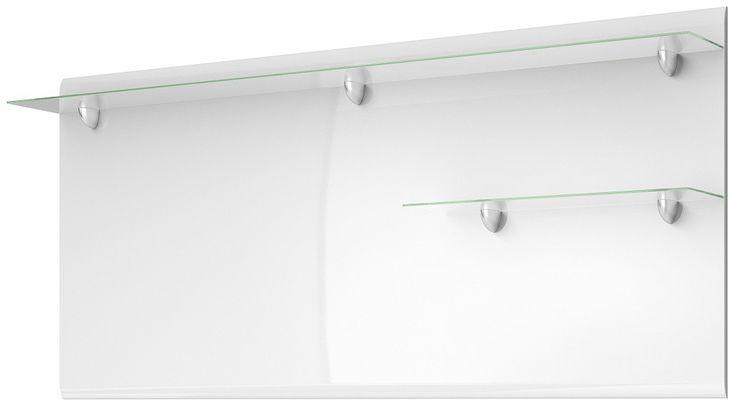 Panel Hektor 03 Niezwykle nowoczesny panel z półkami to propozyjca do nowoczesnego salonu . Dzięki białemu połyskowi pasuje do większości pomieszczeń Można do niego dopasować dodatki w każdej kolorystyce ramki ze zdjęciami czy delikatne filiżanki. Doskonale prezentuje się z zarówno w stylowych nowoczesnych wnętrzach jak i nastrojowych pokojach dziennych .