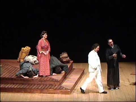 Laboratorio Brunier Madame Butterfly  di Giacomo Puccini atto primo