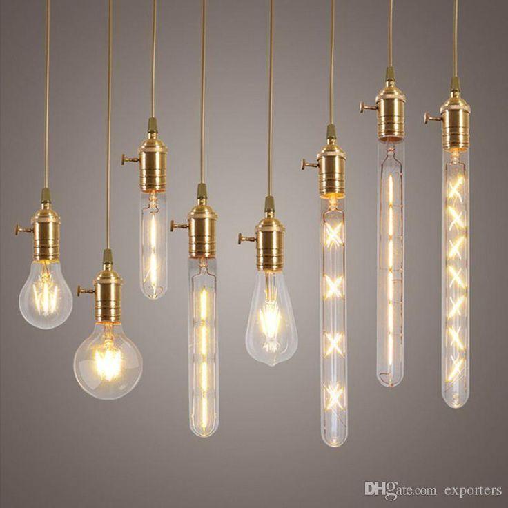 2w 4w 6w 7w 8w E27 Led Filament Bulb Clear Glass Edison Light Bulbs For Indoor Vintage Lamp Lighting Gu24 Led Bulb 9007 Led Headlight Bulbs From Exporters, $15.76  Dhgate.Com
