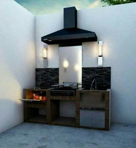 M s de 25 ideas incre bles sobre asadores de patio en for Asador en patio pequeno