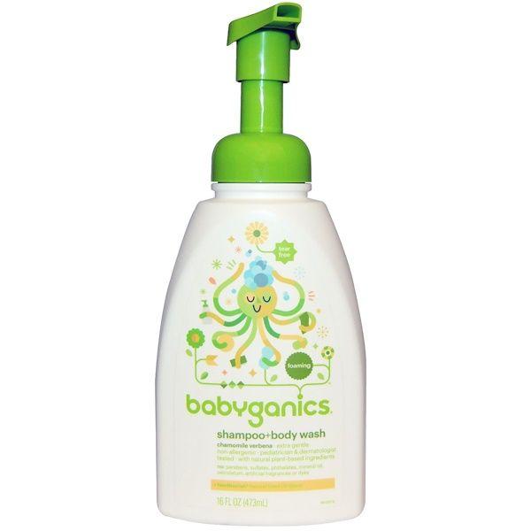 Babyganics شامبو غسول للجسم زهرة البابونج 16 أونصة 473 مل Discontinued Item Shampoo Body Wash Babyganics Vitamins For Kids