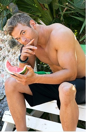 I'd love to be that watermelon!