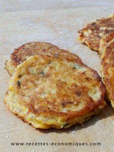 Recette des galettes de maïs, un régal, elles peuvent servir pour les hamburger…
