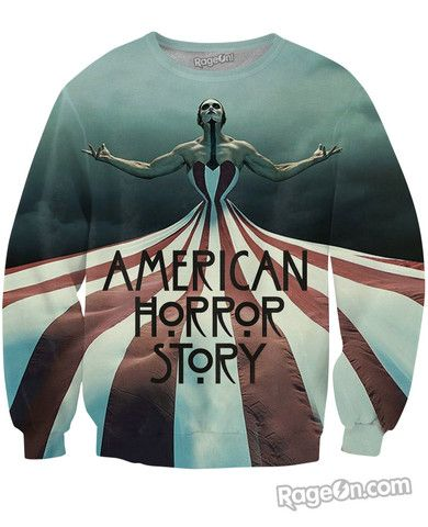American Horror Story: Freak Show Crewneck Sweatshirt - Rage On! - The World's Largest All-Over Print Online Retailer