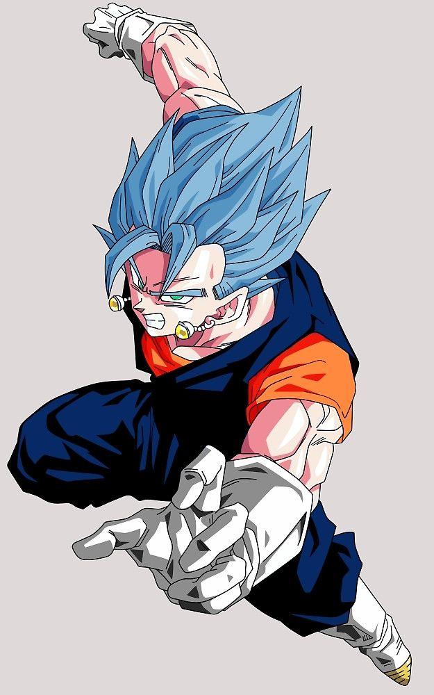 """Super Saiyan God Super Saiyan Vegito"" by aasgo123 | Redbubble"