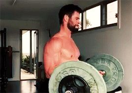 So this is what it feels like... — chrishemsworthgifs: chris hemsworth's work out via...