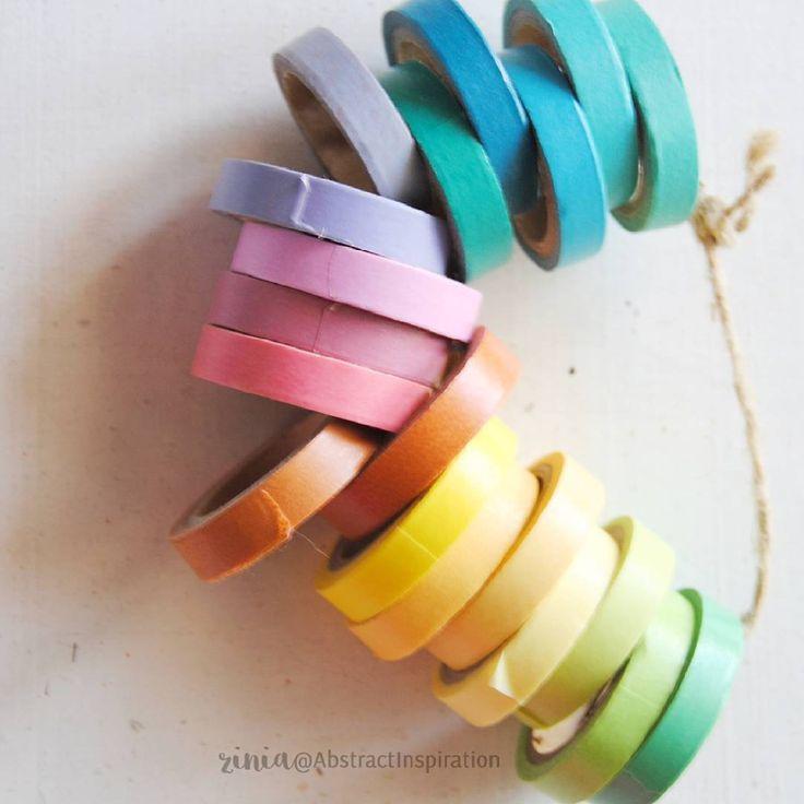 """#plannerdarlingspotd Day 20: Rainbow"""