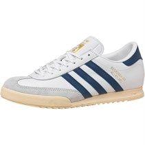 adidas Originals Mens Beckenbauer All Round Trainers White/Blue/Gold